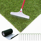Artificial Grass Astro Garden Turf Realistic Natural Fake Lawn Green 20mm/30mm