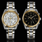For Dad Gift OUYAWEI Mechanical Mens Stainless Steel Band Wrist Automatic Watch