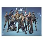 Fortnite Gaming Poster Print Wall Art A4 A3 Xbox PS4 Game Console Online Geek <br/> BUY 2 GET 2 FREE, PERFECT GIFT FOR FORTNITE GAMING FANS