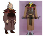 Avatar: The Last Airbender The Dragon of the West Iroh Cosplay Costume NN.1625