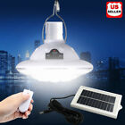 22LED Outdoor/Indoor Solar Lamp Hooking Camp Garden Lighting Remote Control USA