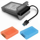Tool-Free USB 3.0 SATA III Hard Disk Enclosures Case Cover For 2.5 inch HDD SSD