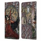 OFFICIAL AMY BROWN FANTASY LEATHER BOOK WALLET CASE FOR MICROSOFT NOKIA PHONES