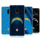 OFFICIAL NFL 2017/18 LOS ANGELES CHARGERS SOFT GEL CASE FOR NOKIA PHONES 1