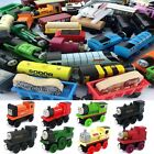 Kids The Tank Engine Tender Wooden Magnetic Railway Train Toys Truck Car Gifts