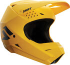 Shift Racing Adult Matte Yellow White Label Dirt Bike Helmet ATV MX 2018