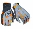 Klim Mens Orange/Grey XC Dirt Bike Gloves MX ATV Motocross Off-Road 2016