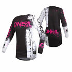O'Neal Youth Pink Element Shred Dirt Bike Jersey MX ATV 2019