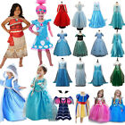 Kyпить Prinzessin Elsa Kleid Fancy Kostüm Mädchen Party Cosplay Frozen Outfit Halloween на еВаy.соm