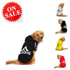 Jacket For Dog Soft Cotton Hoodie Pet Adidog Winter Warm Sport Sweater Clothes