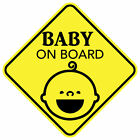 BABY ON BOARD SMILE MAGNET CHILD CAR SIGN MADE IN USA Buy 2 Get 3rd FREE