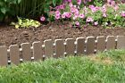 Garden Edging-Evergrain® Composite No Dig Roll Up Flower Bed Edges-Free Shipping