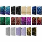 OFFICIAL PLDESIGN GLITTER SPARKLES LEATHER BOOK WALLET CASE COVER FOR APPLE iPAD