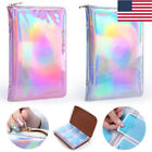 72 Slots Holographic Stamping Plate Holder Case Nail Art Plate Organizer Tools