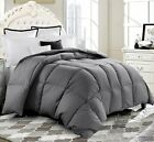 Oversized Goose Down Alternative Comforter Duvet Cover Insert Stitched 4 colors image