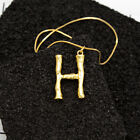 Punk Womens Gold Plated Initial Alphabet A-Z Letter Chain Necklace Pendant