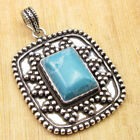 Multiple Choices, 925 Silver Plated PURPLE COPPER TURQUOISE & Other Gems Pendant