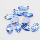 6x12mm Navette Marquise Sew On Rhinestones Flatback Crystals Glass Strass Chaton
