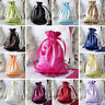 """360 pcs 6x9"""" Large SATIN FAVOR BAGS - Wedding Drawstring Gift Pouches Discounted"""