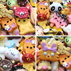 Miniature Play Toy For Barbie Dolls Food Cake Biscuit Donuts Durable 10pcs/lot