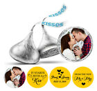 From The New Photo Wedding Stickers Kisses 190 Pcs Chocolate Labels-DS-KS147