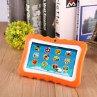Quad Core 7Inch 8GB Kids Tablet PC Android4.4 Dual Camera HD WiFi Bundle Case XZ