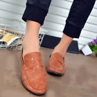 Autumn Crocodile Pattern Shoes Personality Casual Slip On Men Driving Loafers