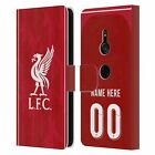 CUSTOM LIVERPOOL FC PERSONALISED PATTERNS PU LEATHER BOOK CASE FOR SONY PHONES 1