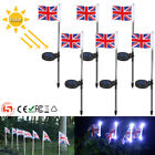 Solar LED U.K. National Flag Landscape Light Outdoor Garden Pathway Decor Lamp