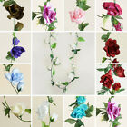 72 feet Large Silk ROSE GARLANDS - Wedding Decorations Wholesale Discounted