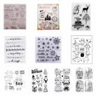 Внешний вид - Xmas winter Transparent Silicone ClearRubber Stamps Sheet Cling Scrapbooking DIY