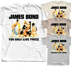 James Bond: You only live twice V2, 1967, T-Shirt (WHITE) All sizes S to 5XL $24.11 CAD on eBay