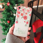 Flower Embossed painting iPhone Protection Cases for various iPhone models