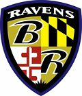 Baltimore Ravens Shield Logo Vinyl Decal / Sticker 5 Sizes!!!