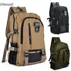 Outdoor Retro Men's Rucksack Canvas Backpack School Satchel Travel Camping Bag