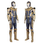 Avengers Infinity War Thanos Cosplay Costume Halloween Outfit Suit Custom Made
