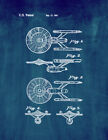 USS Enterprise from Star Trek: The Motion Picture Patent Print Midnight Blue on eBay
