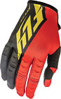 Fly Racing 16 Kinetic Red/Yellow ATV Motocross Offroad Motorcycle Riding Glove