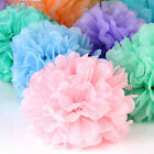 Tissue Paper Pom Poms Wedding Party Baby Living Room Home Decoration Pompoms Au