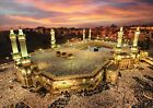 Mosque Mecca Islam Kaaba Photo Poster Picture Print ONLY Wall Art A4 Gift 2 type