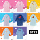 BTS BT21 Official Authentic Goods Winter Pajamas Flannel Night Dress +Track #