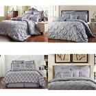 Unique Home 8 Piece Reversible Pinch Pleat Comforter Set Fade Resistant, Wrinkle image