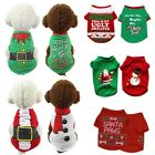 USA Pet Small Dogs Christmas Sweater Shirt Tops Puppy Hoodie Shirt Coat Apparel