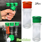 Внешний вид - 2Pcs Kitchen Plastic Portable Spice Salt Jars Pepper Salt Sugar Shaker Bottle