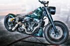 Harley Davidson - American Classic Bike Wall Art Large Poster / Canvas Picture £13.0 GBP on eBay