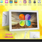 "10"" inch HD LED Digital Photo Picture Frame MP3 MP4 Movie Player Remote Control"