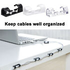 Kyпить 20 x Cable Clips Management Holder Cord Wire Line Organizer 3M Self-Adhesive New на еВаy.соm