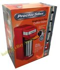 Proctor Silex Single-Serve Plus Coffee Maker 14 oz. K-Cup Grounds White or Red