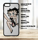 Betty Boop Iphone Case 5C, 5S, SE, 6, 7, 8, Plus, X, XS, XS Max, XR $16.95 USD on eBay