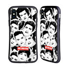 OFFICIAL ONE DIRECTION FACE PATTERNS HYBRID CASE FOR APPLE iPHONES PHONES